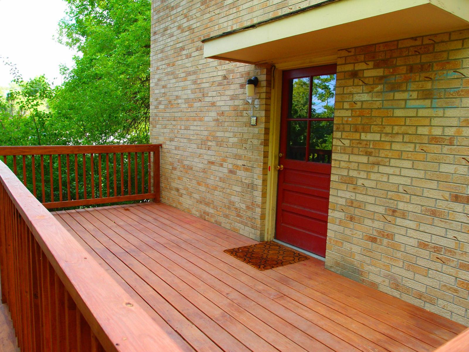 2473 Duplex 3: Deck and Front Door